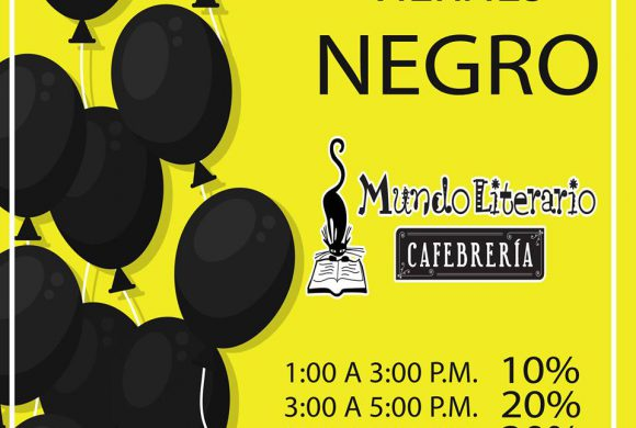Viernes Negro Mundo Literario