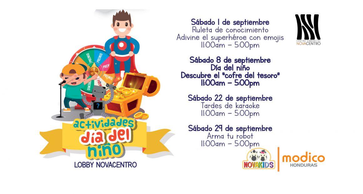 Actividades día del niño